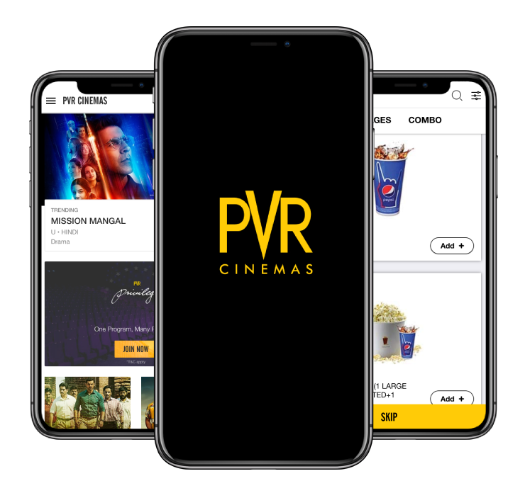 pvr cinemas app